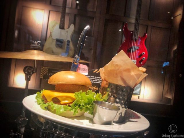 nueva carta de Hard Rock Cafe