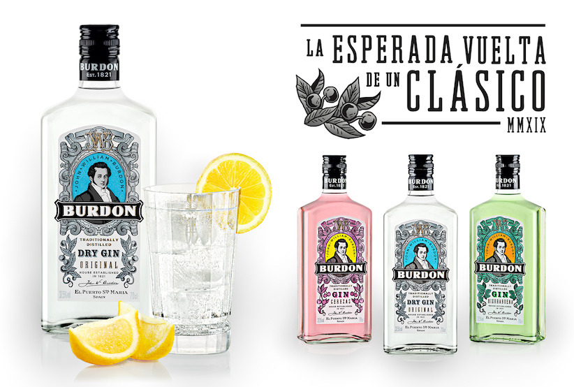 Burdon Gin, el renacer de una ginebra legendaria de El Puerto