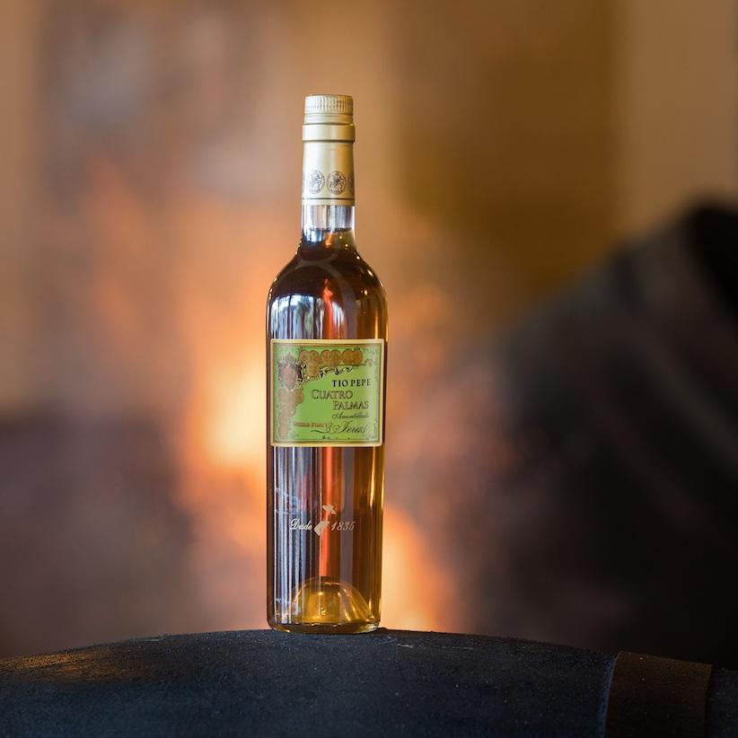 Tío Pepe Cuatro Palmas, el mejor vino del mundo 2019