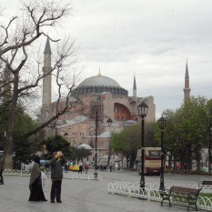 Hagia Sophia was built in 537 AD and remains as a gem of Byzantine architecture.