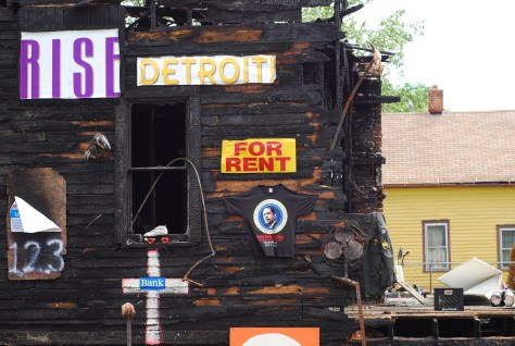 In places, Detroit is just happening. Photo source: