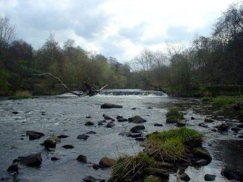 Kelvingrove Park Weir