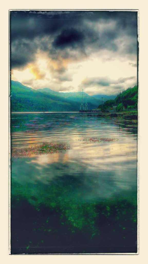 A suitable Sea Loch was chosen..