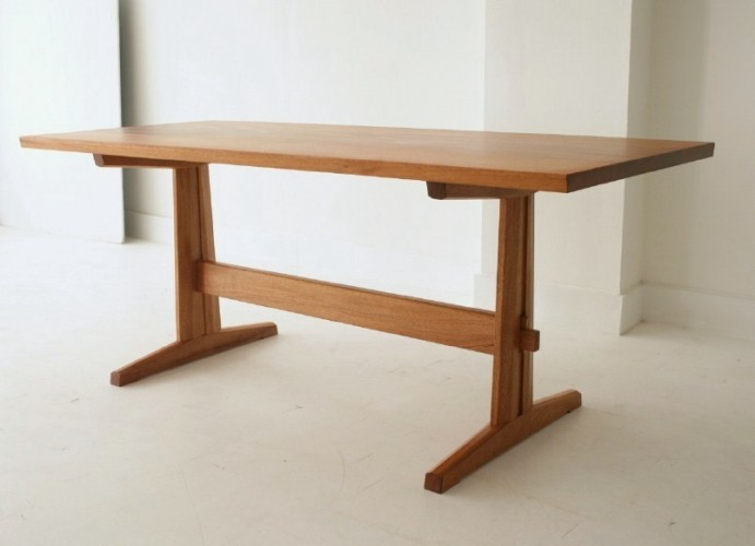 trestle table by urban