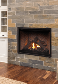 Montigo H42 Fireplace Available From Urban Fireplaces Ltd