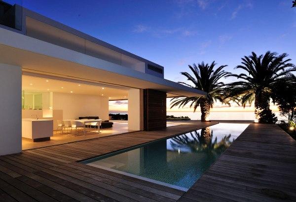 Modern Beach House with Pool Design