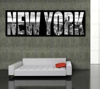 Nyc Canvas Wall Art - new york canvas art skyline at ...