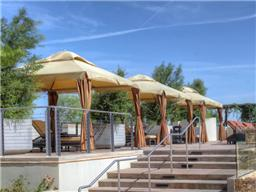 Private Cabanas at Montgomery Plaza