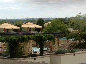 view of pool from unit 2422