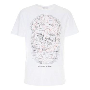 Alexander McQueen - Map Skull T-shirt