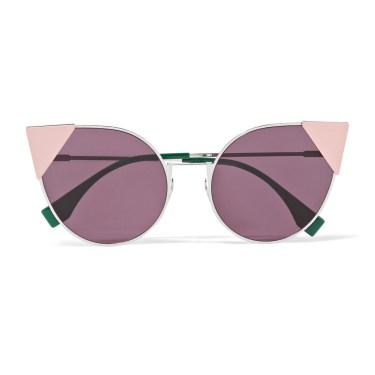 Fendi - Embellished Cat-Eye Sunglasses