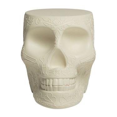 Qeeboo - Mexico Skull StoolSide Table