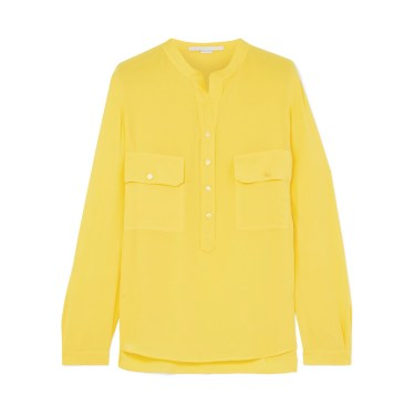 Stella McCartney - Estelle silk crepe de chine shirt
