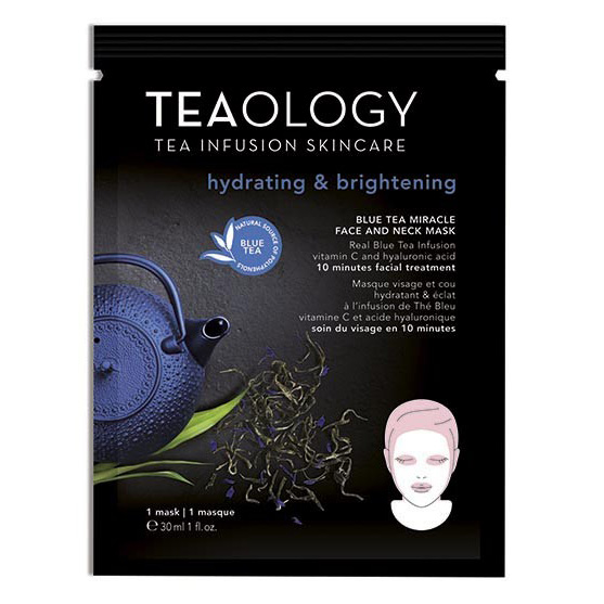 Teaology - Blue Tea-Miracle Face & Neck Mask Hydrating & Brightening