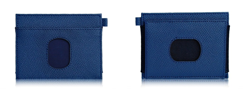SLIM WALLET BLUE 3