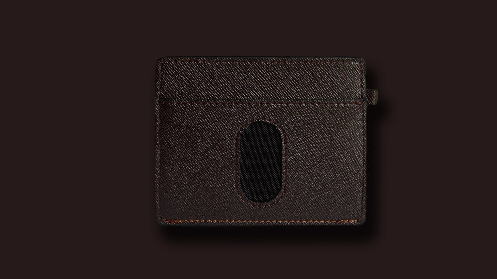 WALLET EURO DARK BROWN 6 16