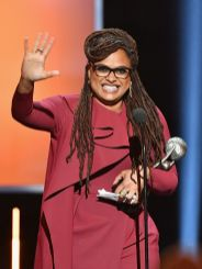 Ava DuVernay accepts the Entertainer of the Year award _preview