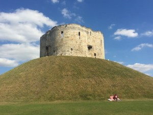 Visiting Yorks Clifford Tower is like stepping back to the Middle Ages