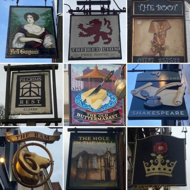 Pub Signs Collage2