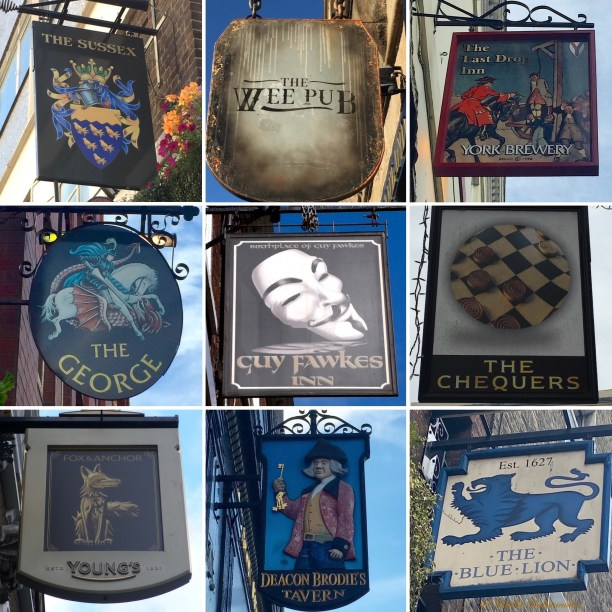 Pub Signs Collage3