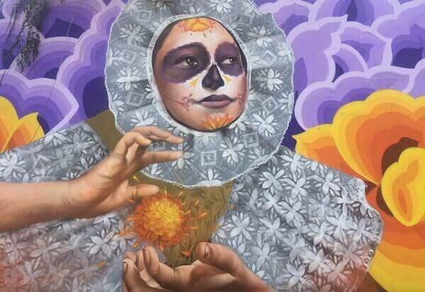 Colourful Street Art Mexico City