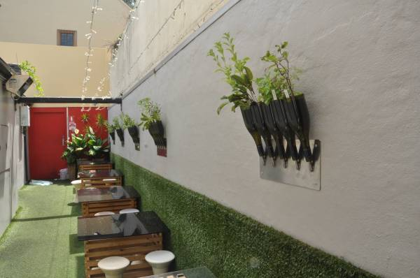 Vertical Wall Herb Garden