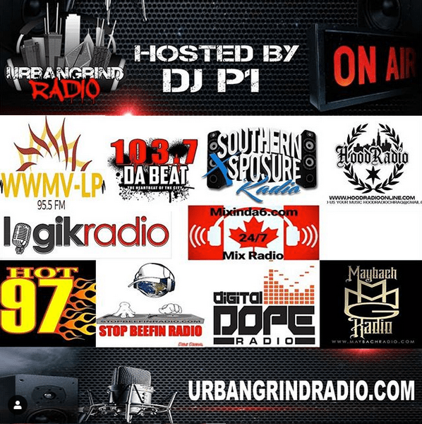 Urban Grind Radio Stations