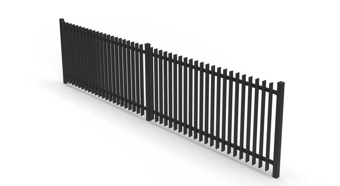 seamless fin fence panel