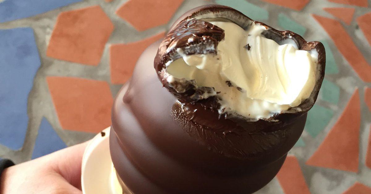 Chocolate-Dipped Ice Cream Cones on Ile d'Orleans