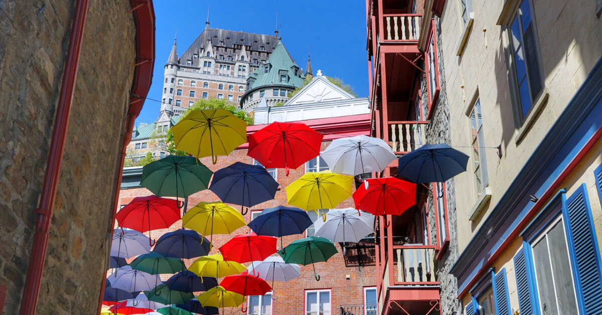 Take a Self-Guided Tour of Quebec City