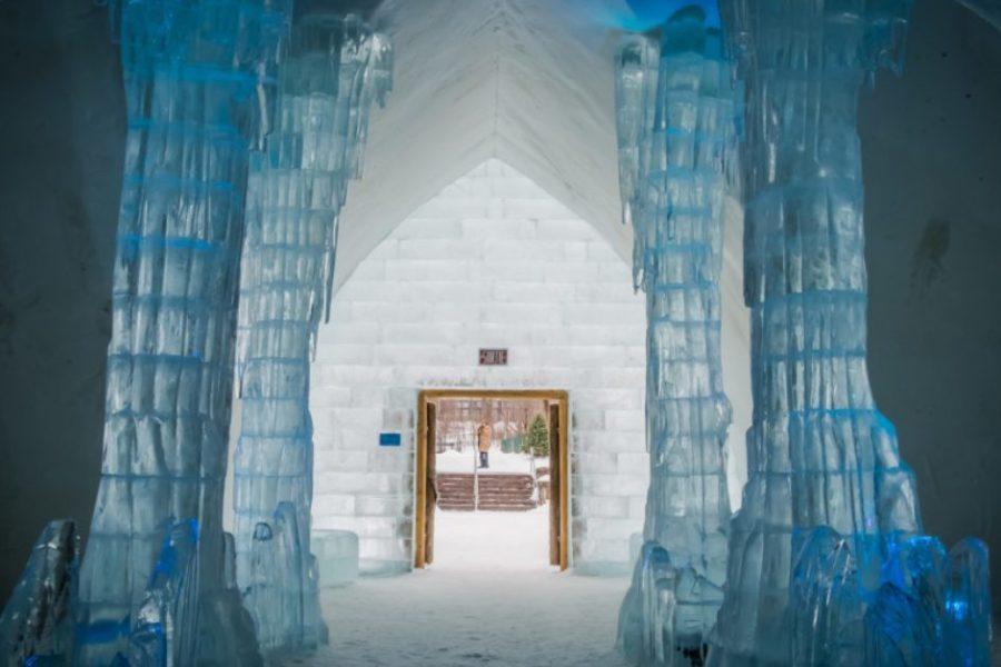 Explore Hôtel de Glace Quebec City's Ice Hotel