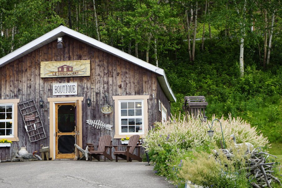 L'Anse-Saint-Jean in the Saguenay-Lac-Saint-Jean region