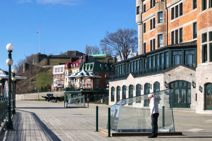 Saint-Louis Forts and Chateaux in Quebec City