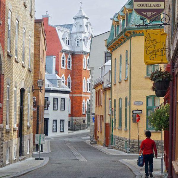 rue Couillard in Quebec City