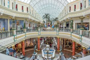 Shopping at Intu Trafford Centre