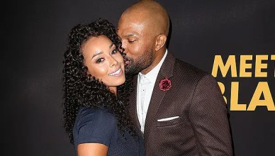 Derek Fisher and Gloria Govan Arrival (Credit: Instagram)