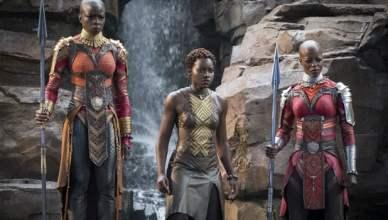 Black Panther Lupita Nyong'o Danai Gurira (Credit: Disney-Marvel)