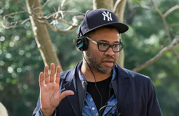 Jordan Peele is seen on the set of Get Out. (Credit: Universal Pictures)