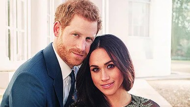 Meghan Markle and Prince Harry Engagement Photo (Credit: Instagram/@kensingtonroyal)