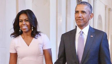 Michelle Obama and Barack Obama (Credit: WhiteHouse.Gov)