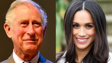 Prince Charles and Meghan Markle (Credit: Deposit Photos and Instagram)