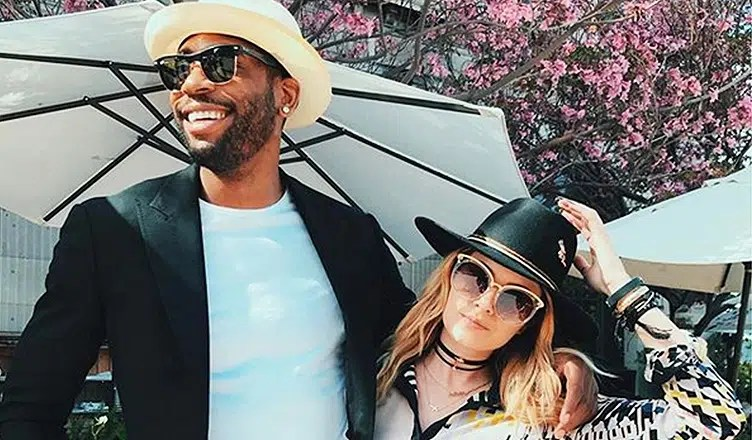 Rasual Butler and Leah LaBelle (Credit: Instagram)