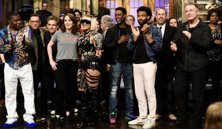 SNL Cast Photo from May 19, 2018. (Credit: NBC)