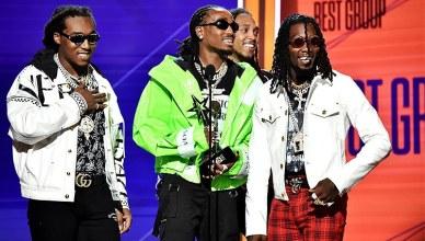 BET Award Winners Migos (Credit: BET.com)