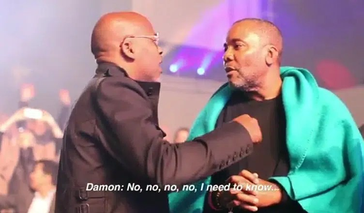 Damon Dash Confronts Lee Daniels (Credit: Instagram)