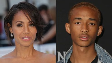 Jada Pinkett Smith and Jaden Smith (Credit: Deposit Photos)