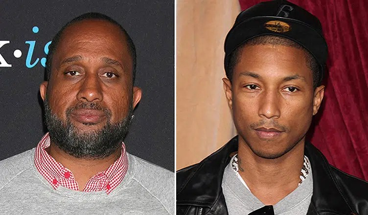 Kenya Barris and Pharrell Williams (Credit: Deposit Photos)