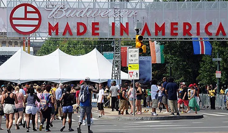 Made in America Festival (Credit: YouTube)