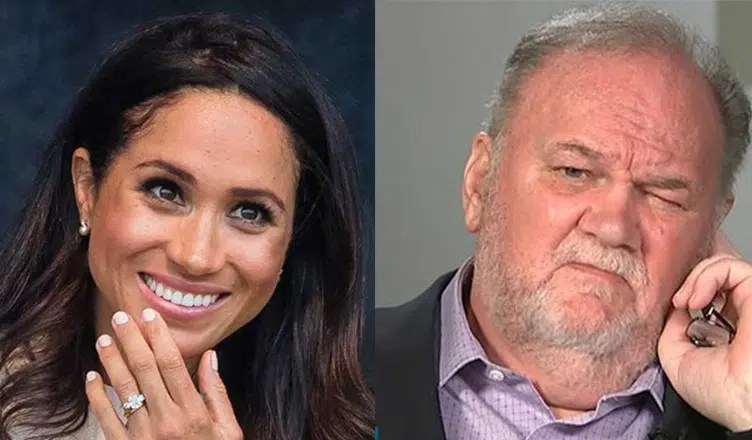 Meghan Markle and Thomas Markle (Instagram and Good Morning Britain)
