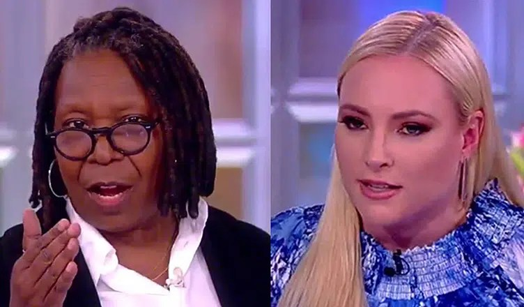 The View Abortion Debate on Thursday, June 28, 2018. (Credit: ABC)